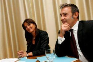 Nathalie Colin-Oesterlé, présidente du Nouveau Centre de Moselle installe Patrick Luxembourger, délégué de Moselle-Nord